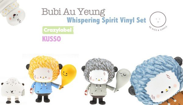 Whispering Spirit Set By Bubi Au Yeung x Crazylabel x KUSSO