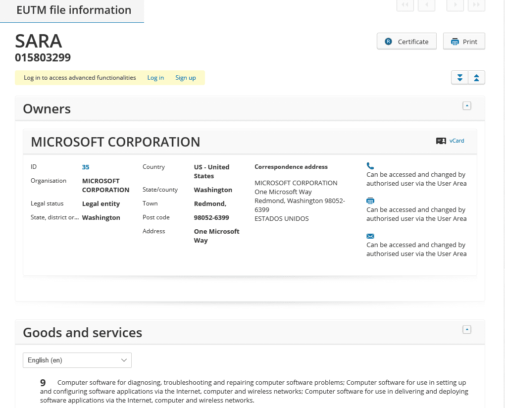microsoft-sara-eu-trademark-application-ms-microsoft-sara