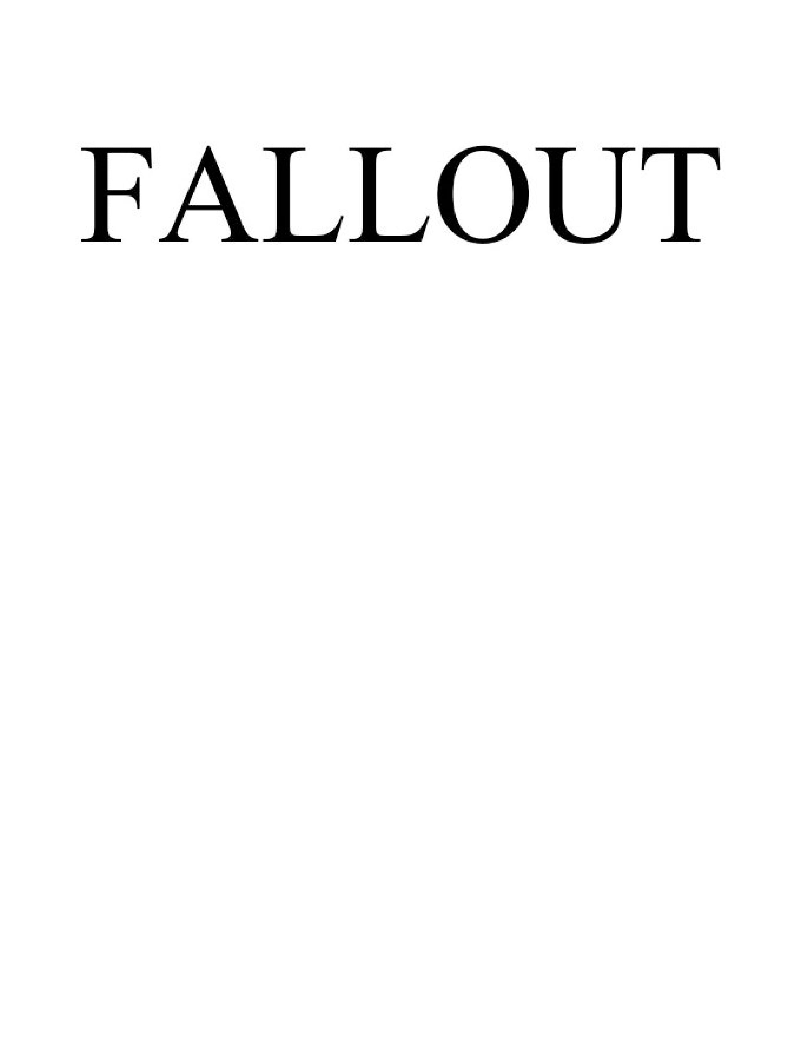 Fallout TV Show Trademark Application Page 006