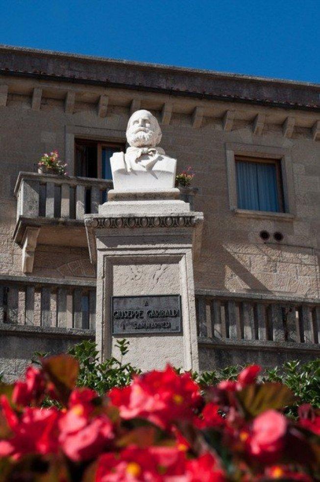 Garibaldi Bust, San Marino