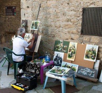 Street Artist, San Marino