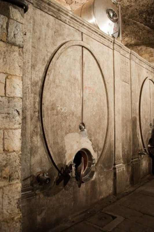 Old Concrete Fermentation Tanks