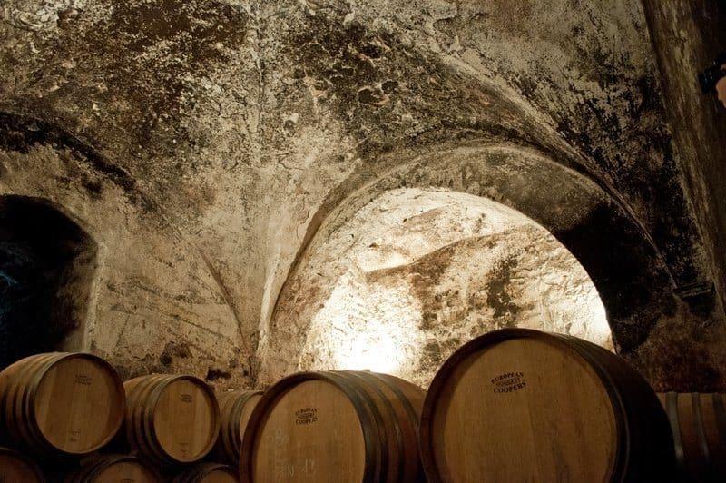 Vaulted Cellar at Badia a Passignano