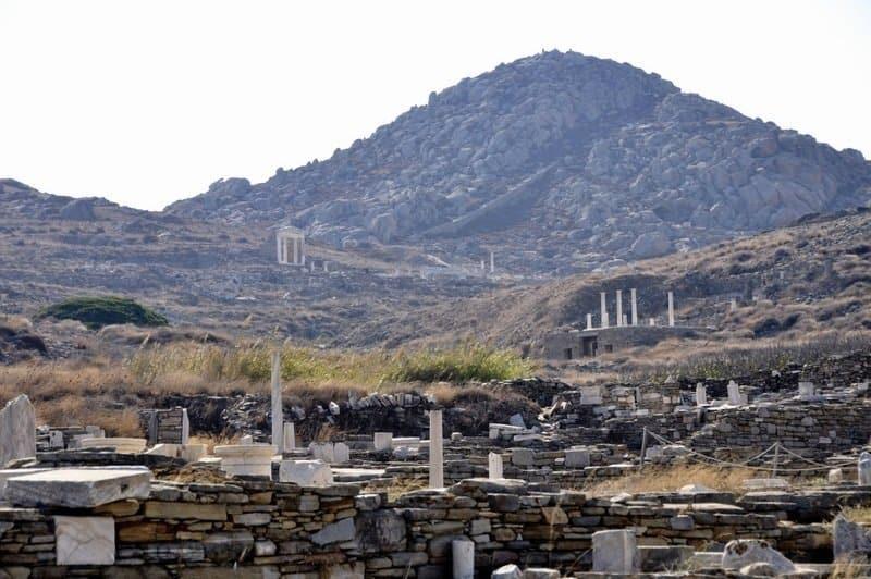 The Ruins of Delos, Greece