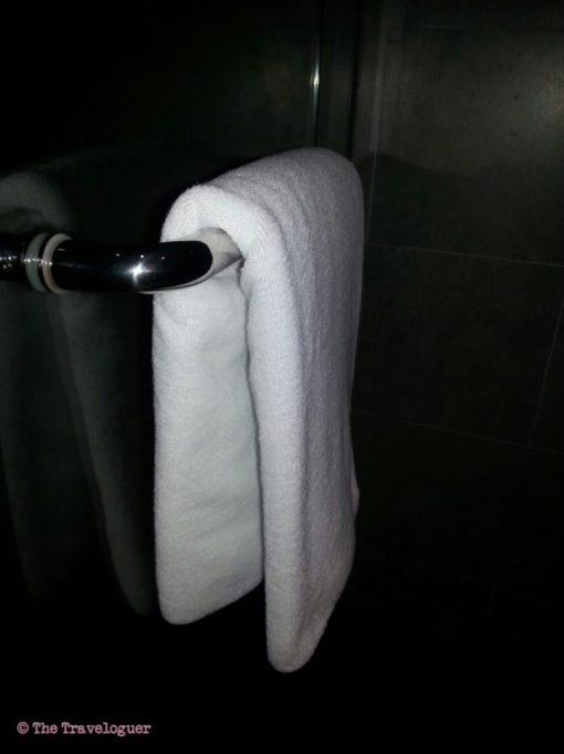 Towels in Kuala Lumpur Plaza Lounge