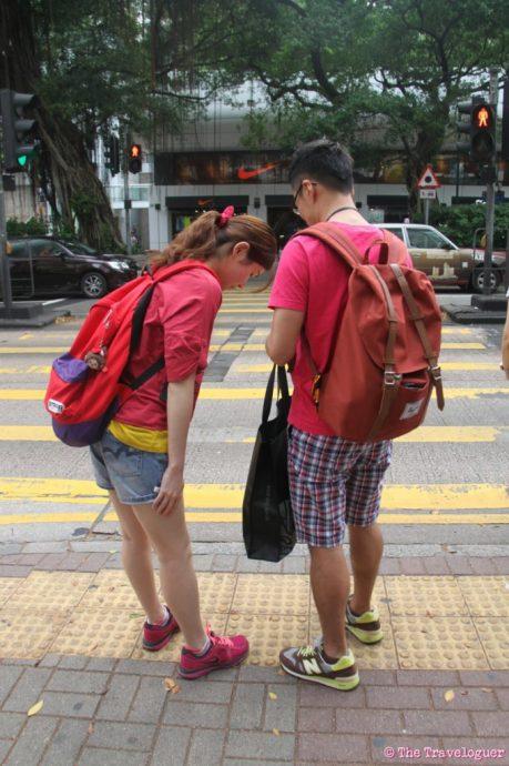 hong kong streets feet