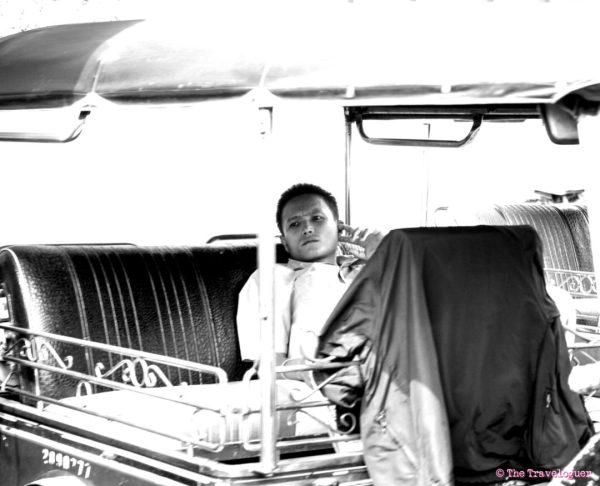 monochromemonday tuktuk driver