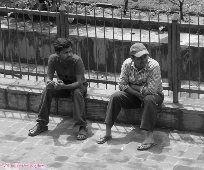 men in kathmandu