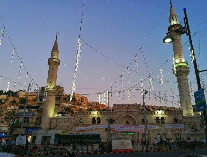 Rainbow Street, Amman, travel in jordan during ramadan - tips and advice - the travelogue travel blog