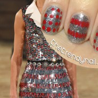NAIL ART TUTORIAL: Inspired by Chanel Pre-Fall 2014