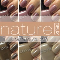 NAILS REVEALED: ZOYA NATUREL DEUX SWATCHES & REVIEWS