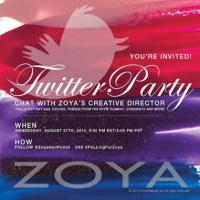 Chat with the pros! Join the Zoya Twitter Party!