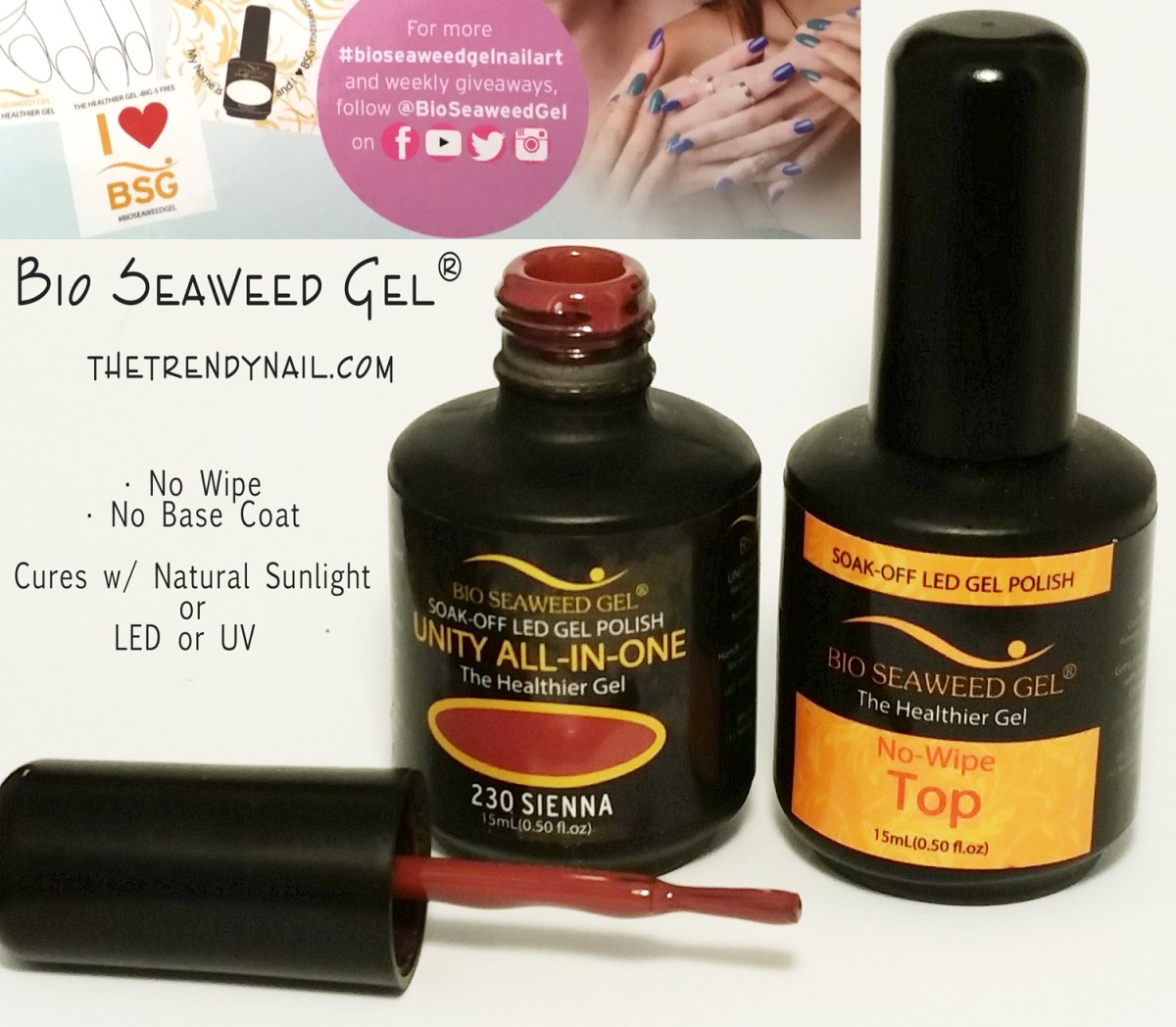 Gel Polish News: 5 Free Gel Polish that Cures in Natural Light