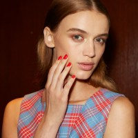Essie Runway Nails: Brooks Brothers S/S 2016