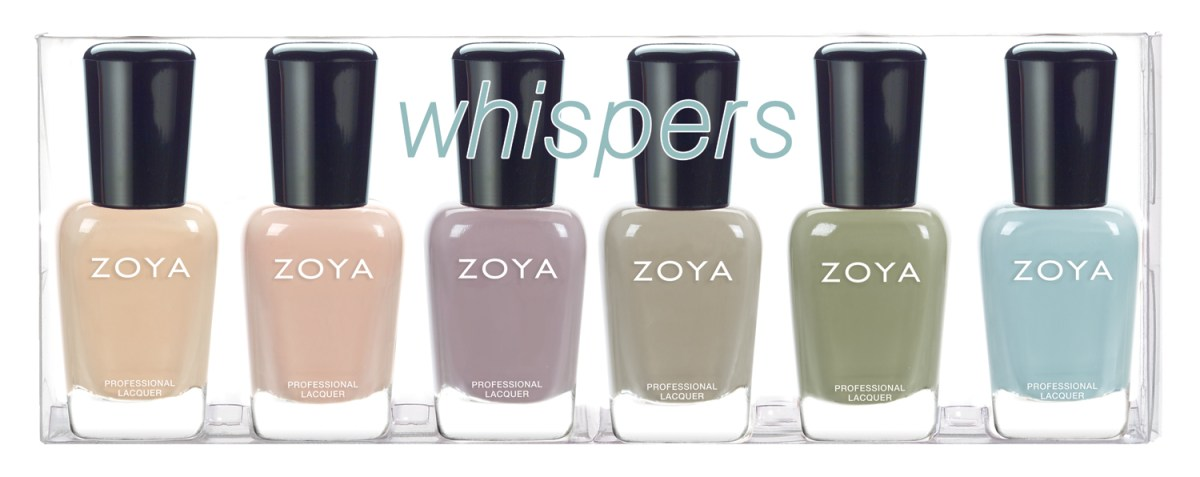 Nail Polish News: Zoya Whispers Collection