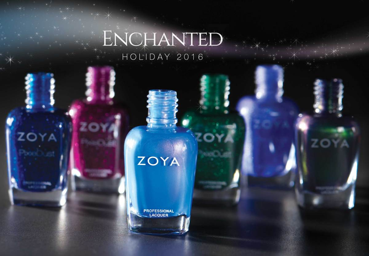 Introducing Zoya Enchanted Holiday 2016 Collection