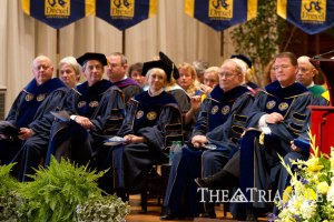 Board of Trustees listened to Fry speak at Convocation 2011