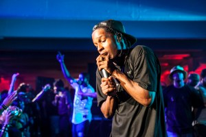 "A$AP Rocky released his debut album ""Live.Love.A$AP Jan. 15 through RCA and Polo Grounds Music. The album includes the hit single ""F---in' Problems,"" which features verses from Kendrick Lamar and Drake along with the hook by 2 Chainz."