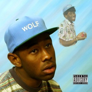 "Tyler, The Creator's ""Wolf"" was released on iTunes April 1 and in stores April 2. The album features Eyrkah Badu, Earl Sweatshirt, Frank Ocean, and Pharrell."