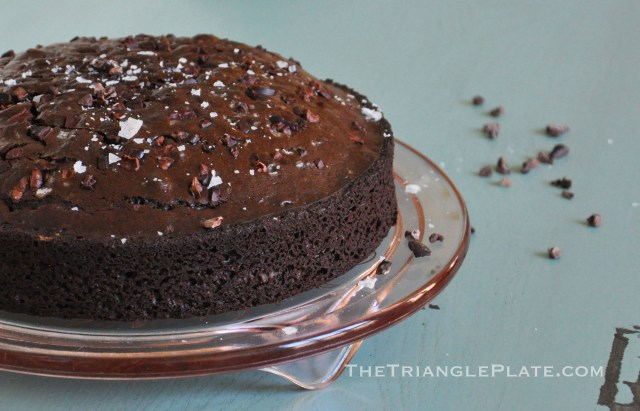DarkChocolateOliveOilCake