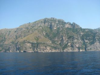 The jaw dropping scenery along the Amalfi Coast