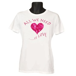 All we need is love heart