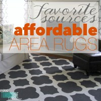 My Favorite Sources for Affordable Area Rugs