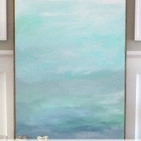 How to Frame a Canvas (for Cheap!)