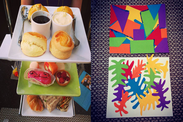 Matisse Cut Outs Afternoon Tea