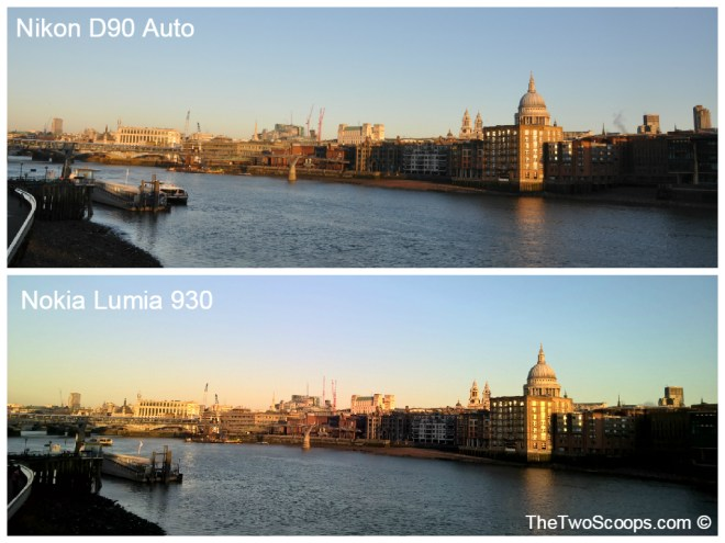 London Southbank DSLR and Nokia Lumia Comparison