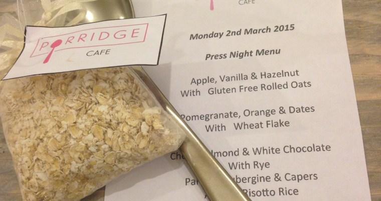 The London Scoop: Porridge Café, Shoreditch
