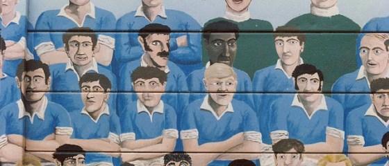 Millwall mural