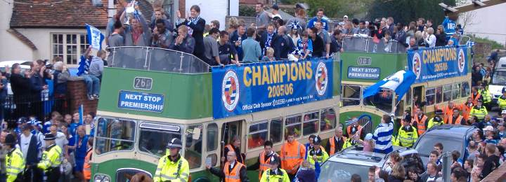 Book Review: The Sum of the Parts/Great Football League Teams 50: Reading 2005-6