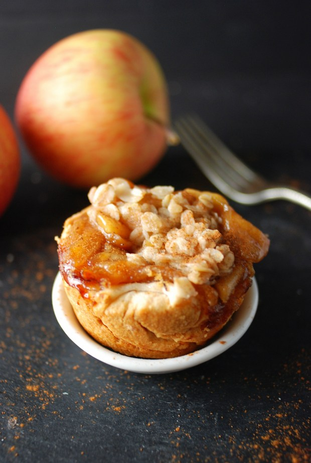 Mini Apple Pie Crisp