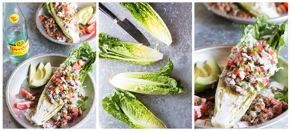 Paleo Southewestern Taco Salad Wedge