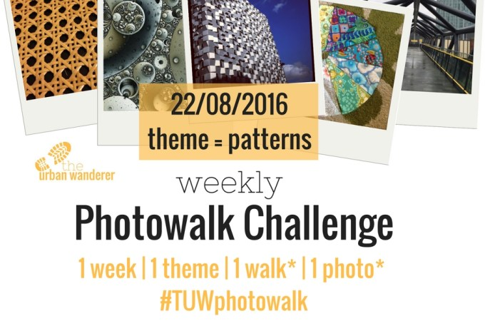22/08/2016 – Weekly Photowalk Challenge Topic: Patterns