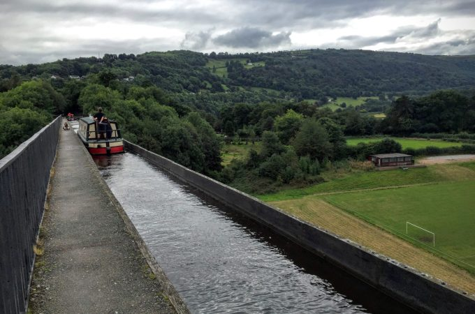 Llangollen and the Pontcysyllte Aqueduct