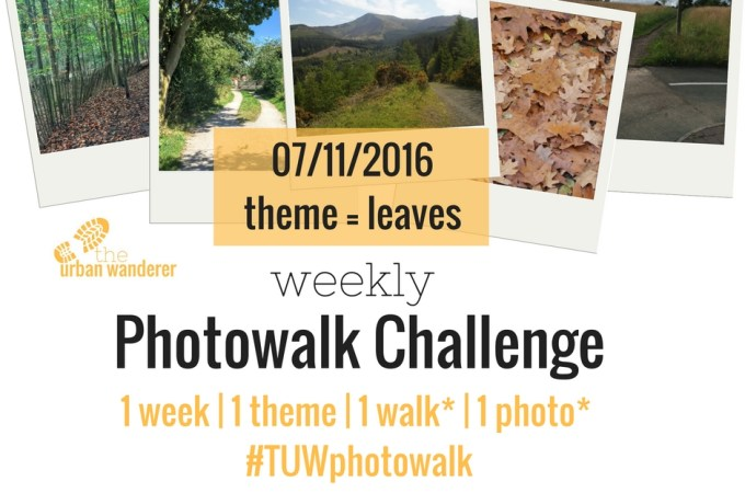 The Urban Wanderer Weekly Photowalk Challenge | #2 Leaves