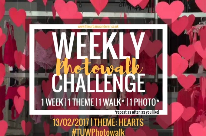 THE URBAN WANDERER WEEKLY PHOTOWALK CHALLENGE | #11 Hearts
