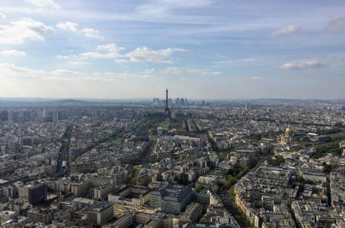 另类巴黎|蒙帕纳斯大厦的景色