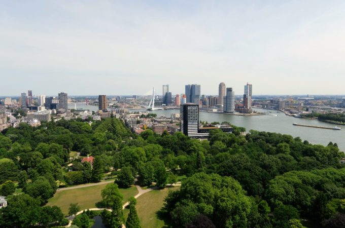 Adventures in Rotterdam | Euromast, Yellow Bridge and Burgers