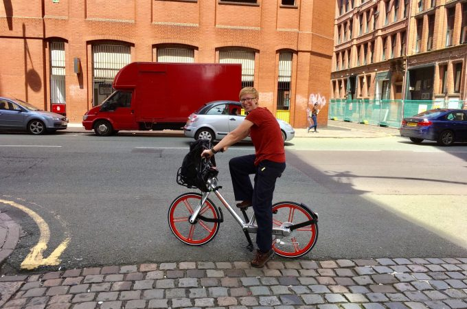 Manchester Mobike   Manchester Bike Hire   The Urban Wanderer   Sarah Irving   Europe   Outdoor Blogger   Travel Blogger   Manchester Blogger