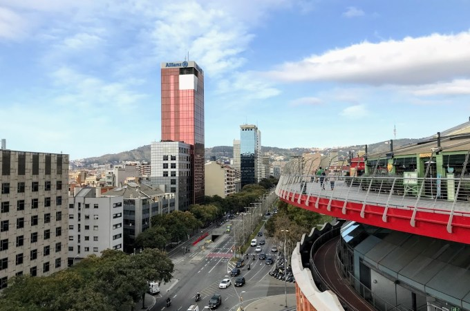 Barcelona | Views over Barcelona from the old Bull Ring