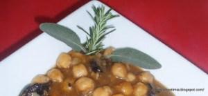 Αρωματική ρεβιθόσουπα με δενρολίβανο - Aromatic chickpea soup with rosemary