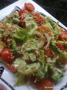 Δροσερή σαλάτα με φινόκιο - Refreshing fennel salad