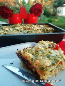 Τα λαζάνια του...πόνου!-Summery zucchini lasagna
