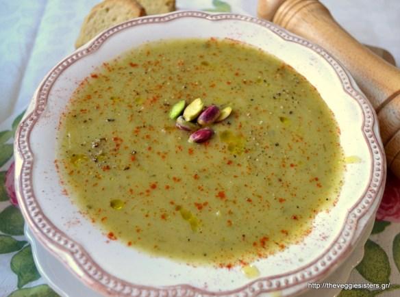 Βελουτέ σούπα λαχανικών-Velvety veggie soup