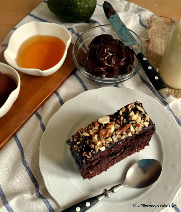 DSC_0108Frosting σοκολάτας χωρίς ζάχαρη