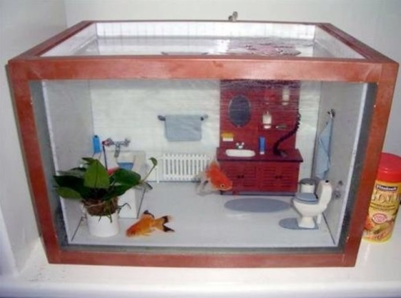 Top 10 amazing and unusual themed fish tanks for Awesome fish tanks