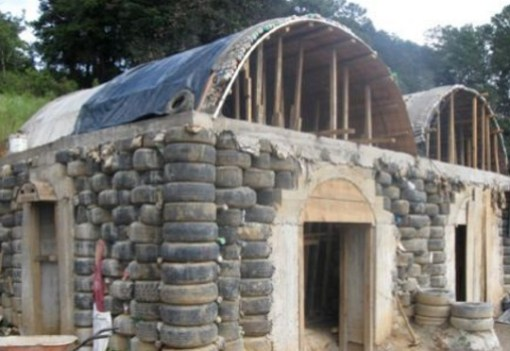 Houses Built From Recycled Materials : Top houses made from recycled materials